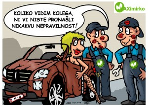 Kontrola automobila