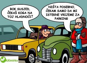 vrijeme za parking